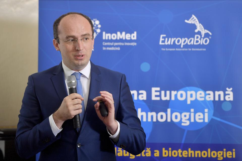 Dr. Marius Geantă, amfitrionul simpozionului, președintele Centrului pentru Inovație în Medicină