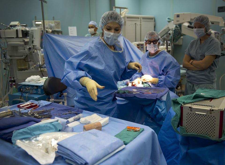 Operație de transplant