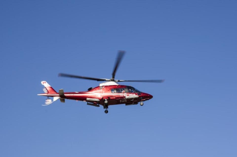 Pacienta din Zalău a fost transportată cu elicopterul SMURD la București