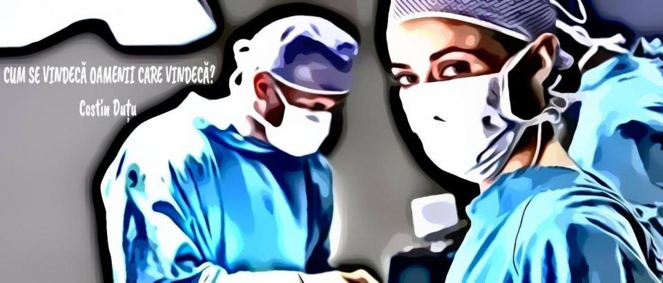 """Medic, despre povara dusă pe umeri de oamenii în halate albe și albastre. Foto: col. Oana Ciobanu/Spitalul Militar """"Carol Davila"""""""