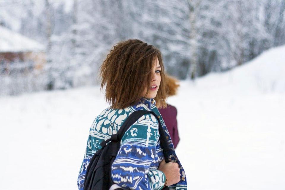 Plimbarile prin zăpadă fac minuni pentru siluetă. Contează mișcarea