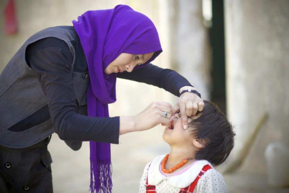 Pentru că talibanii au dat interdicție, în jur de un milion de copilași din Afganistan nu au putut fi vaccinați