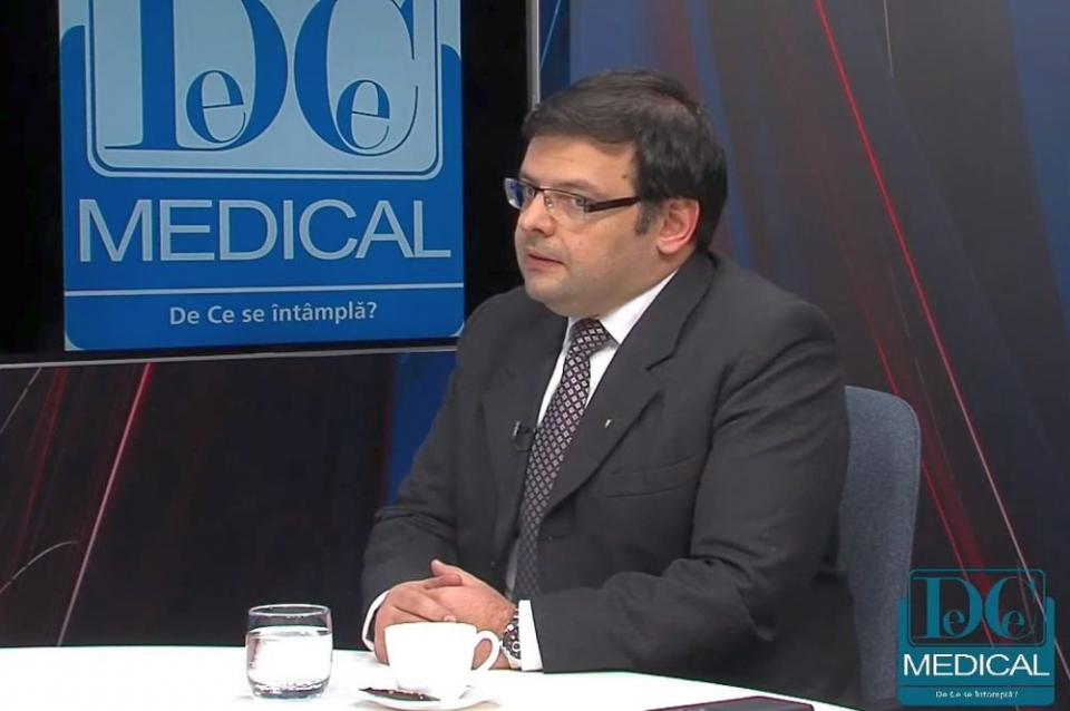 """Lt. col. dr. Silviu Ionel Dumitrescu, șeful Secției Cardiologie 1 de la Spitalul Universitar de Urgență Militar """"Dr. Carol Davila"""""""