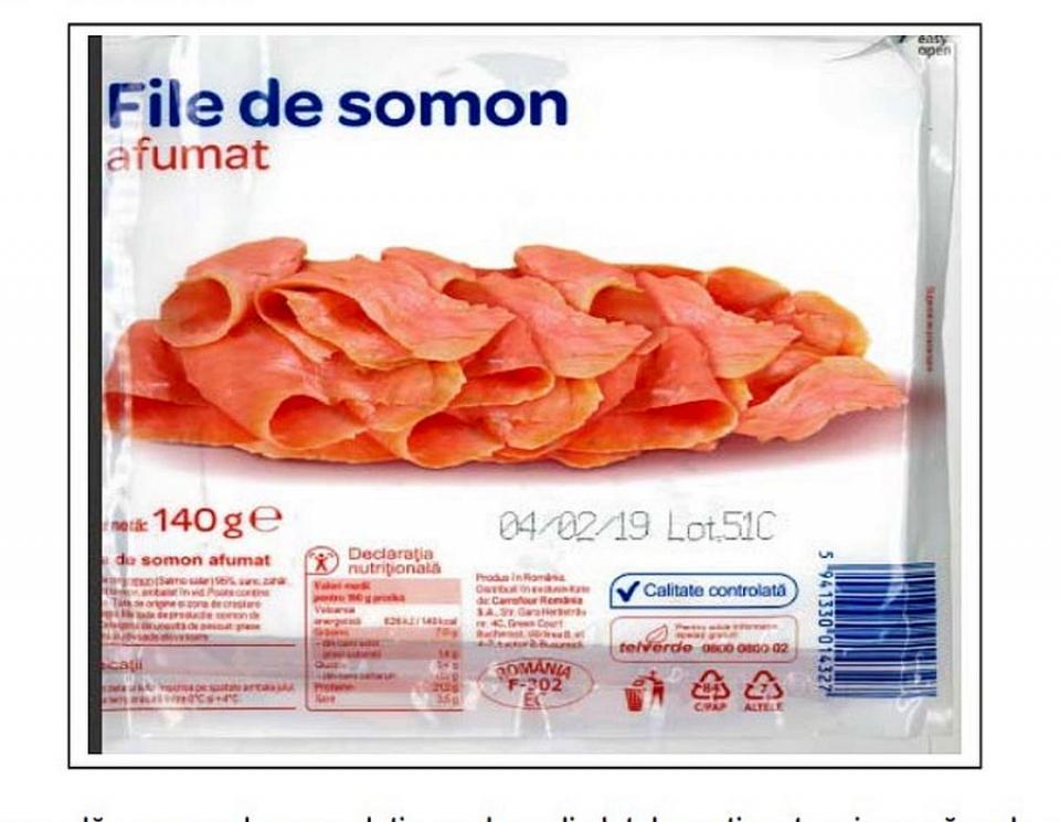 Produsul retras de Negro 2000 SRL din magazinele Carrefour