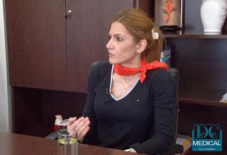 Dr. Adriana NIca, managerul Spitalului Universitar de Urgență Bucuresti