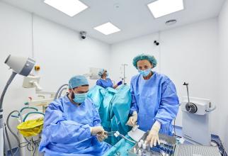Sală de intervenții în Clinica Oncologică Sanador. FOTO: SANADOR