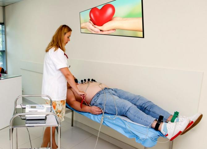 EKG ajută la diagnosticarea afecțiunilor cardiace