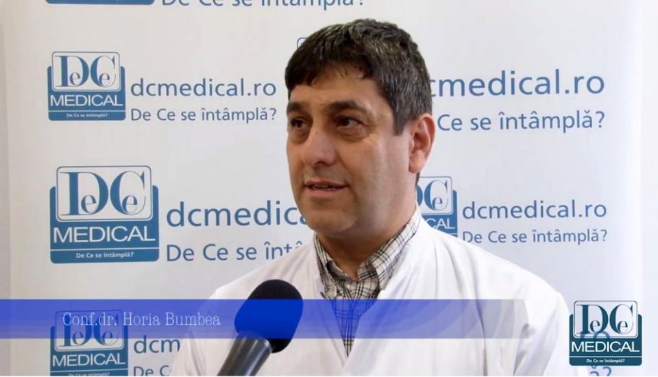 Dr. Horia Bumbea. FOTO: DC MEDICAL
