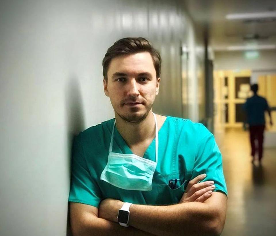 Dr. Mihail Pautov este medic specialist în Chirurgie Generală și asistent de cercetare. Foto: Facebook
