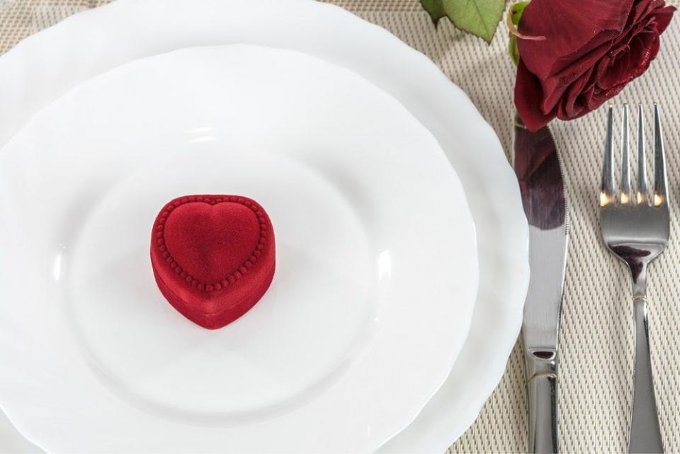 Ce ar fi ca de Valentine's Day să faci o declarație de dragoste mâncării?