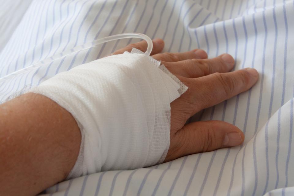 Încă o pacientă internată cu această boală
