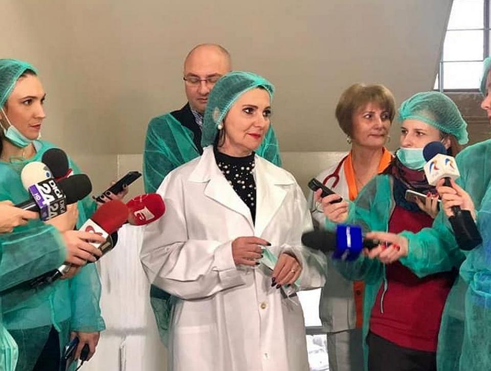 Spitalul din Sinaia a fost verificat, neanunțat, de ministrul Sănătății