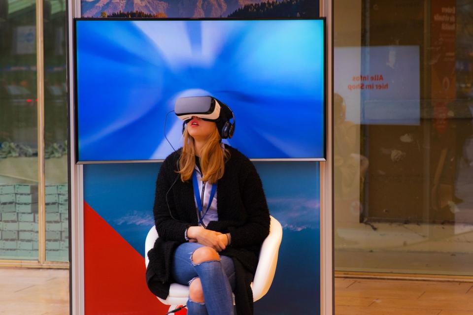 Realitatea virtuală a fost utilizată într-un studiu privind ameliorarea demenței