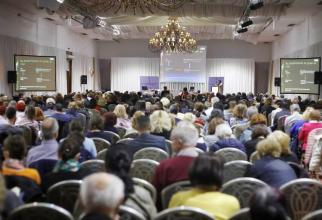 Aproape 5.000 de medici au participat la Conferinta Colegiului Medicilor Bucuresti în 2019. FOTO: CMMB