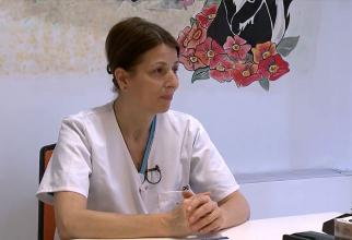 Dr. Cornelia Preda, șeful Secției de Neonatologie de la Spitalul Clinic Sanador. Foto: DC MEDICAL