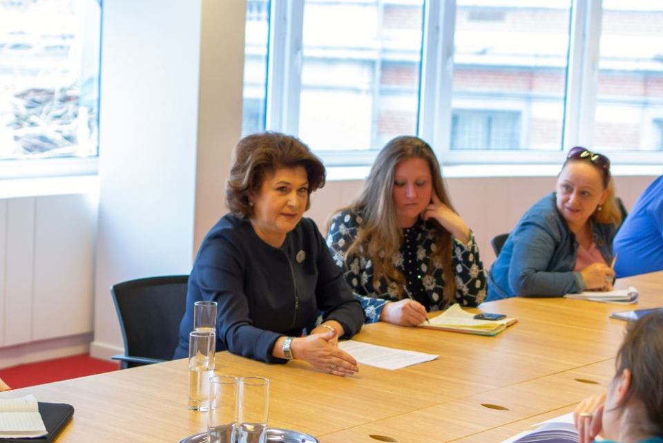 Rovana Plumb a explicat ce investiții se fac în Sănătate din banii europeni. FOTO: Ministerul Fondurilor Europene