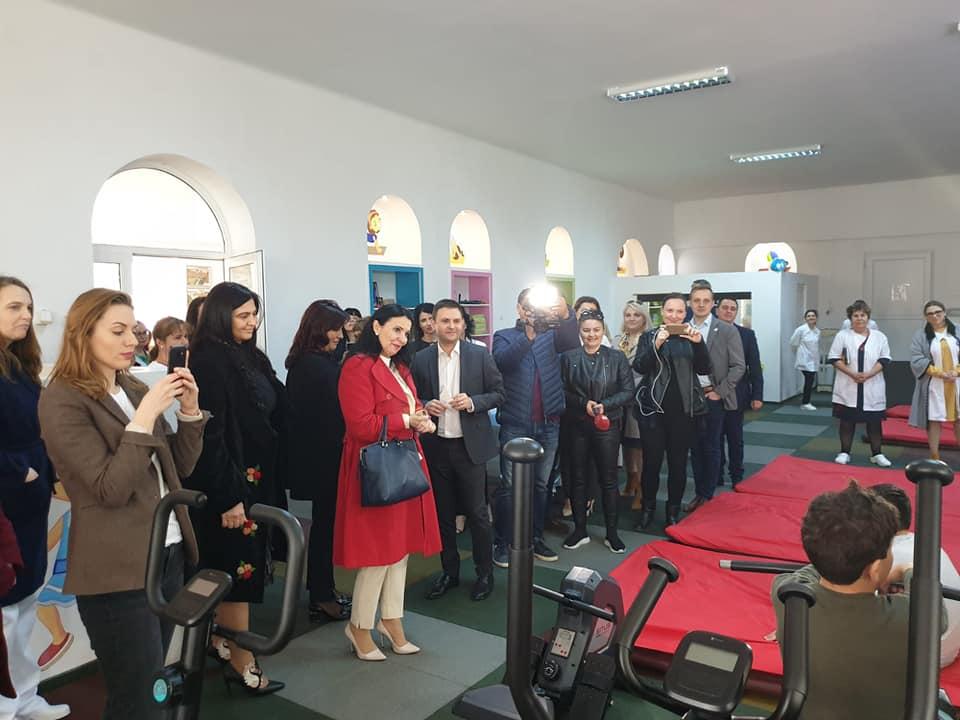 Sorina Pintea ministrul Sănătății, a participat la lansarea proiectului de investiții de la Sanatoriul Balnear și de Recuperare Techirghiol