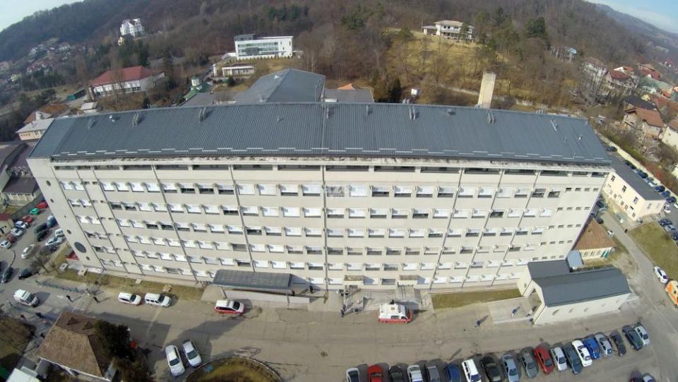 Spitalul Județean de Urgență Vâlcea. Foto: Gazeta Vâlceană