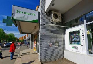 Primul automat montat la Târgu Mureș de o farmacie din oraș. Foto: PharmaShop24.ro