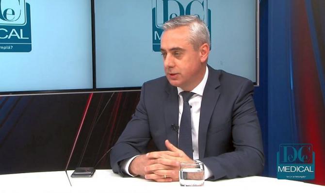 Adrian Grecu, președintele APMGR. Foto: DC MEDICAL