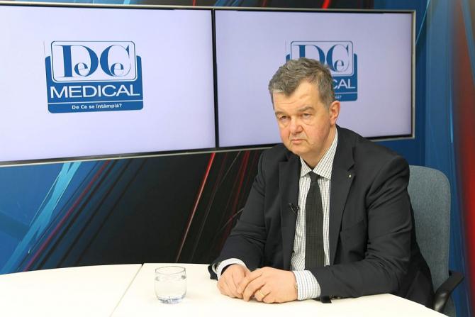 Dr. Radu Ciudin, invitat la Academia de Sănătate. Foto: DC MEDICAL