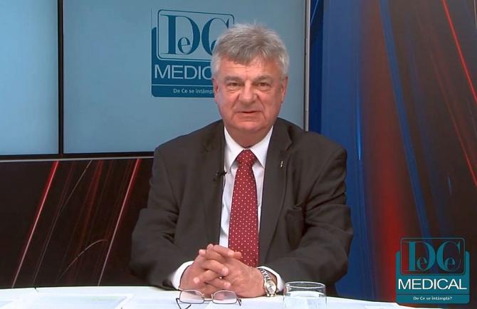 Prof.dr. Sorin Rugină, rectorul Universității Ovidius din Constanța. Foto: DC MEDICAL