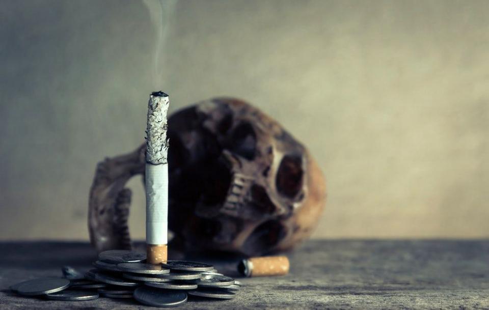 Bacteriile expuse la fumul de țigară au fost mai virulente