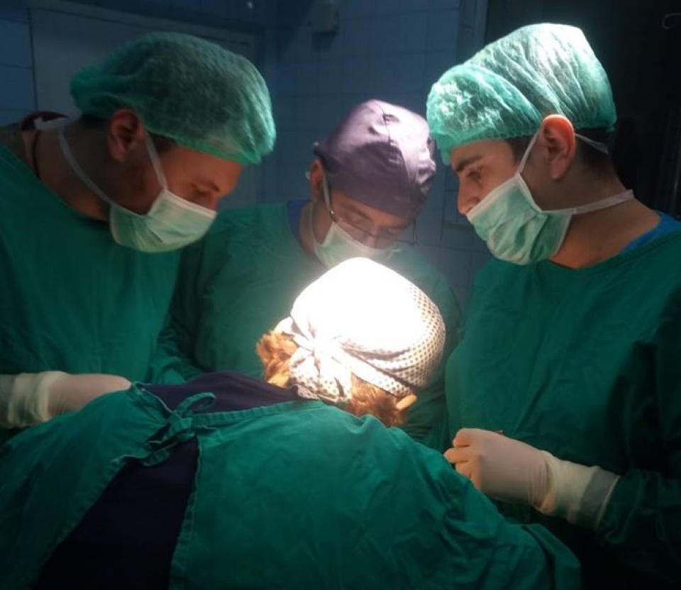 O tumoră a fost extirpată într-o intervenție chirurgicală