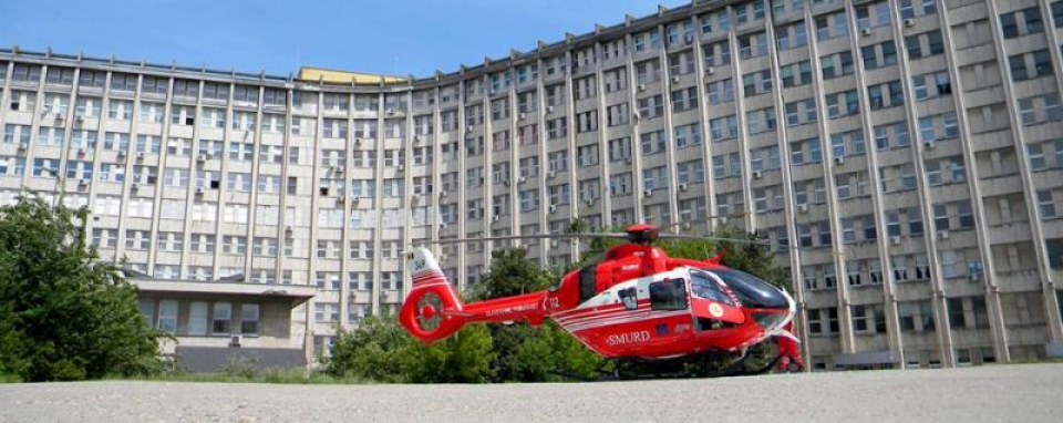 Clădirea Spitalului Județean din Constanța  FOTO: Facebook Spitalul Județean Constanța