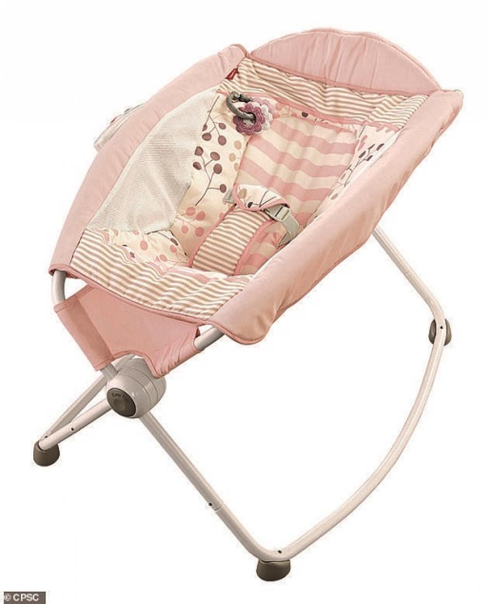 Scandalul pătuțurilor balansoar a început după ce 10 bebeluși au căzut din ele și au murit    Sursa foto: CPSC