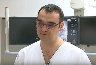 Dr Cristian Mihalea neuroradiolog intervenționist supraspecializat în Franța. Foto: DC MEDICAL