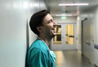 Dr. Mihail Pautov este chirurg la Institutul Clinic Fundeni