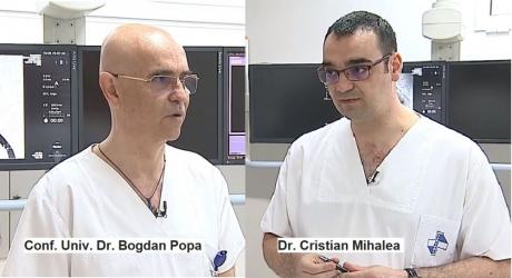 Conf. Univ. Dr. Bogdan Popa și Dr Cristian Mihalea, la Interviurile Dc Medical