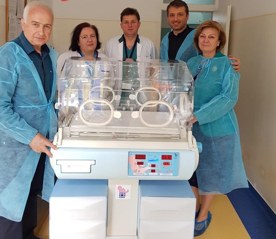 Aparatura medicală provine din donații