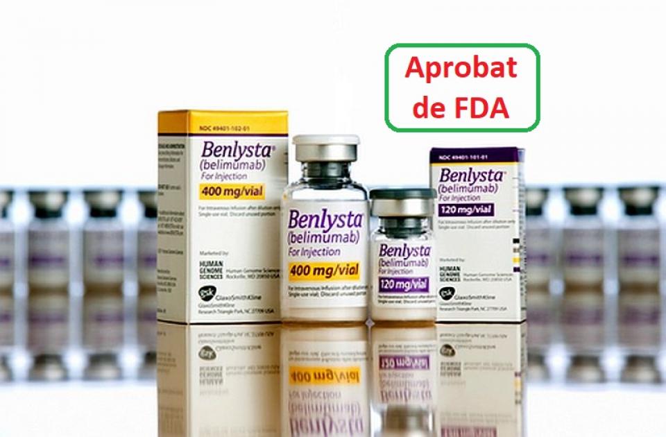Benlysta a fost aprobat și pentru tratamentul pacienților pediatrici cu Lupus