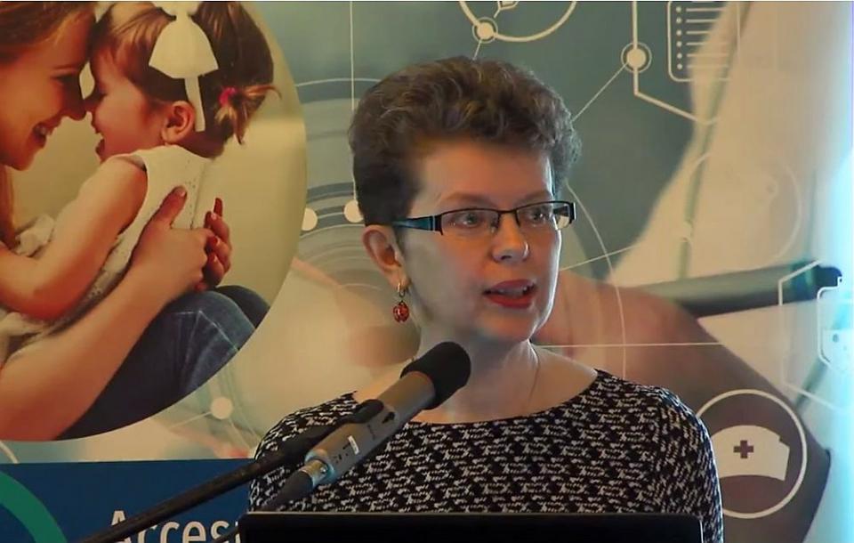 """Conf. Univ. Dr. Daniela Pițigoi, la workshop-ul """"Accesul universal la vaccinuri și vaccinare"""". Foto: DC MEDICAL"""