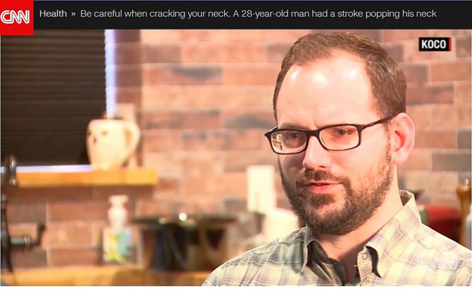 Trosnitul gâtului era să-l coste viața pe Josh Hader. Foto: CNN