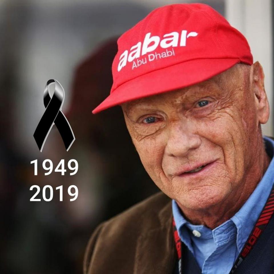 Niki Lauda. Foto: Facebook/Fanpage