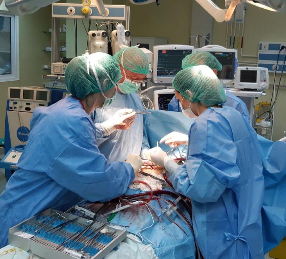 Ruptură cvasicompletă de aortă - un bărbat de 30 de ani, din Tulcea, i-a supraviețuit acestui diagnostic  FOTO: Facebook Spitalul Judeețan Constanța