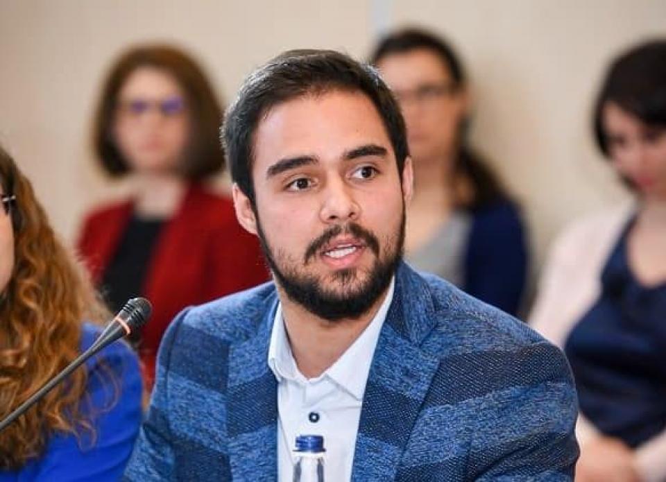 Studentul Teodor Blidaru  FOTO: Facebook Teodor Blidaru