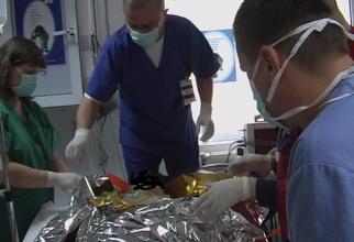 Femeia a ajuns la spital cu arsuri pe 30% din suprafața corpului