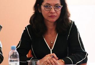 Mirela Iordan, conducătoarul unui grup d elucrur pe sănătate la Camera Americană de Comerț din România  FOTO: DC Media Group