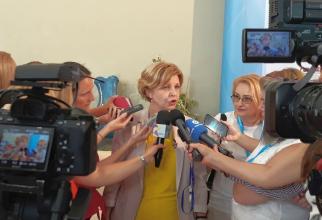 Oana Grigore, director la Direcția relații cu presa, afaceri europene și relații internaționale din Ministerul Sănătății