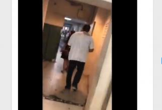 Pacientul cu probleme la picior l-a urmărit pe medicul de la Urgență pe holurile spitalului