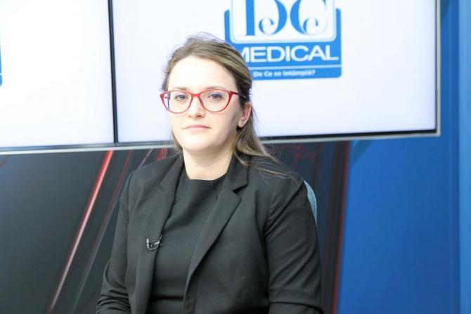 Dr Beatrice Dragomir Anghel, invitatul Interviurilor DC News și DC Medical. Foto: DC Medical