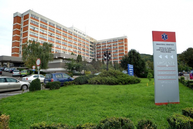 Clădirea Spitalului Județean din Târgu-Mureș  Facebook SCJU Târgu-Mureș