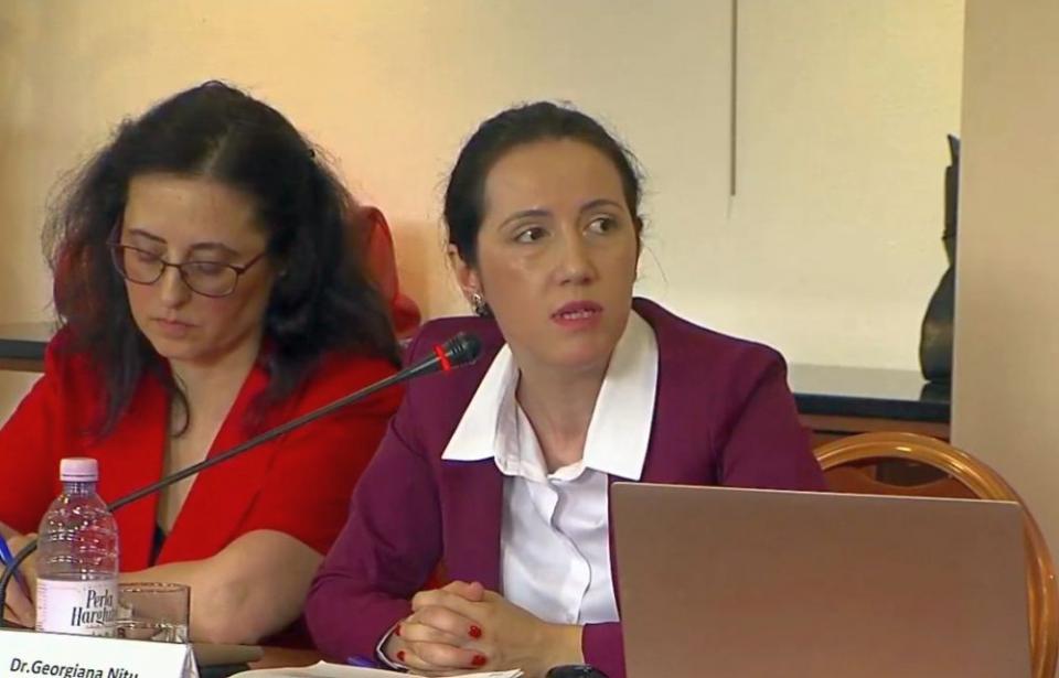 Dr. Georgiana Nițu, la Dezbaterea organizată de DC MEDIA GROUP