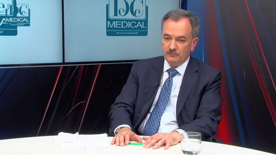 Prof dr Cristian Gheorghe, invitat la Academia de Sănătate. Foto: DC MEDICAL