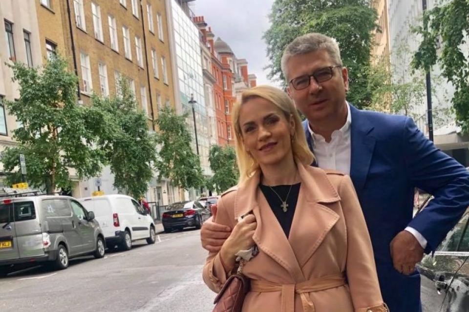 Primarul general al Capitalei și soțul   Facebook Gabriela Firea