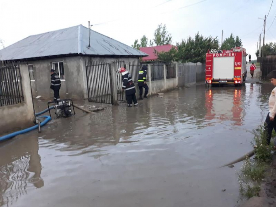 Inundații FOTO: ISU Teleorman